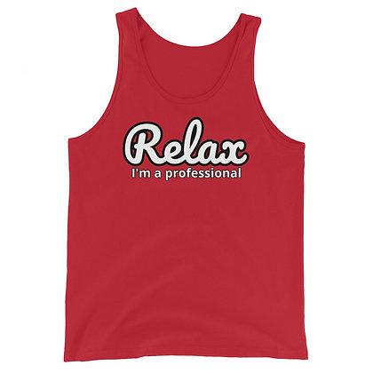 Relax I'm a professional - Men's Tank Top