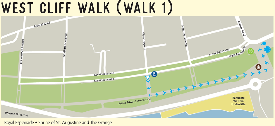 West Cliff Walk 1 Map