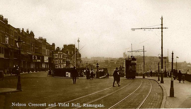 Nelson Crescent, Tidal Ball, Tram