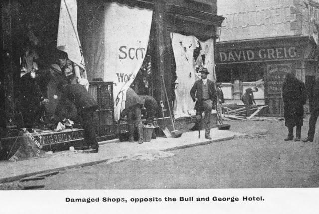 Shops Opposite Bull & George