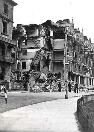 Granville Bomb Damage