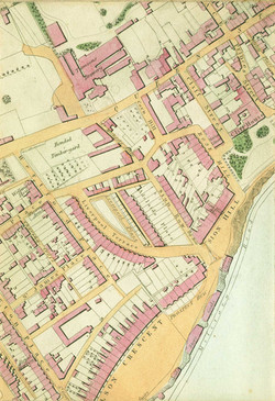 Tomson's Brewery 1849 Map