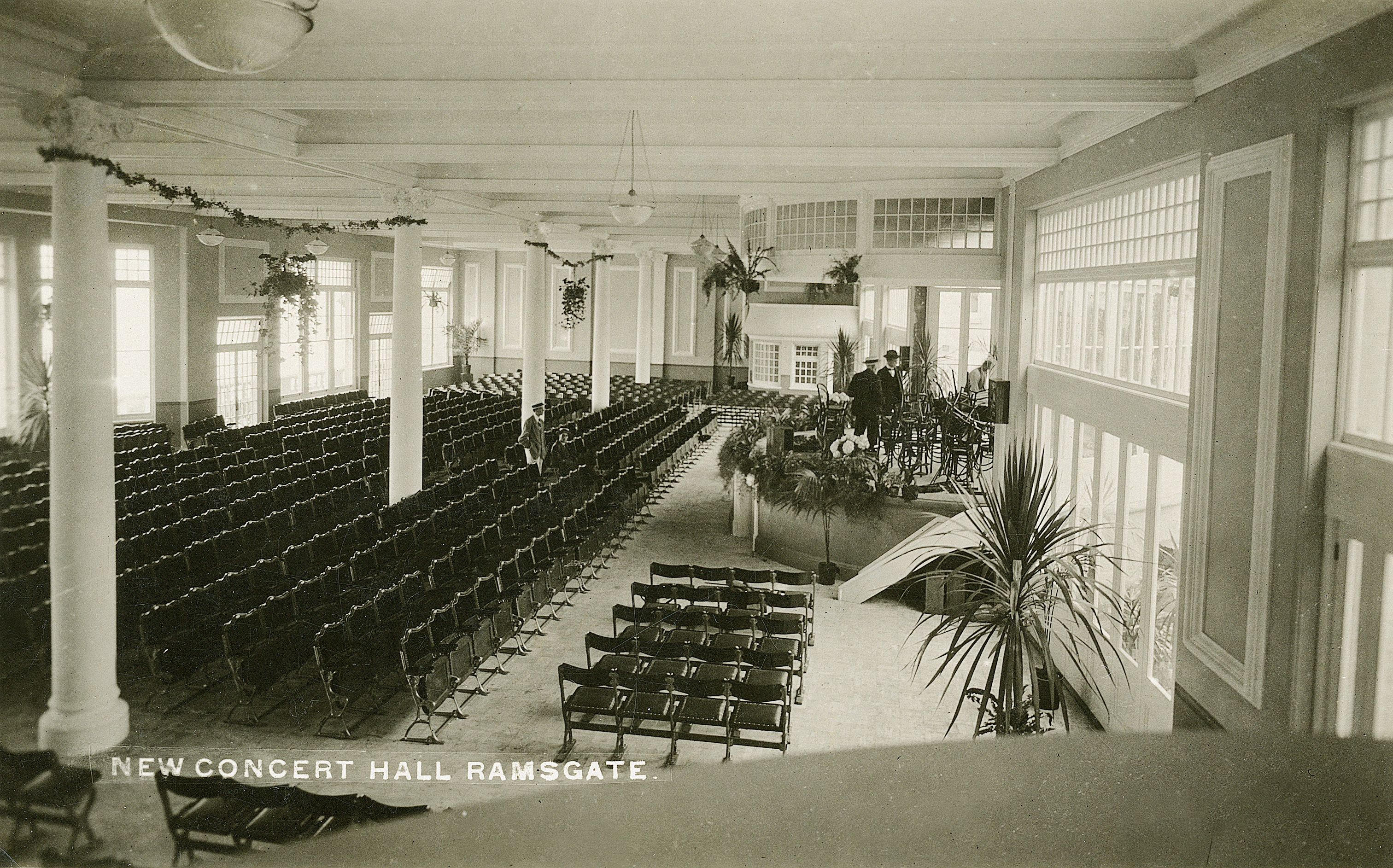 West Cliff Hall Interior