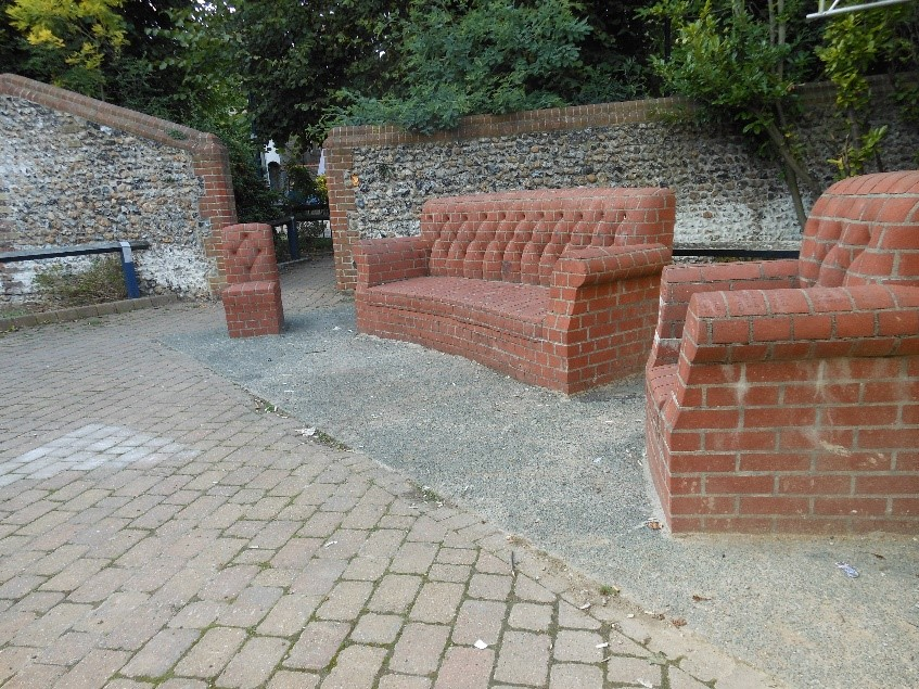 Brick Chairs