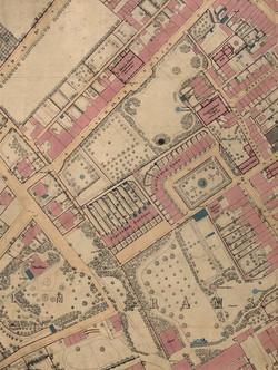 Tomson's Passage 1872 Map