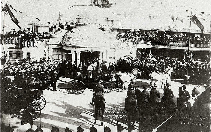 Royal Victoria Pavilion opening in 1904