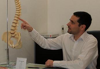 présentation de votre chiropracteur Julien Cadena au centre chiropratique de Lille