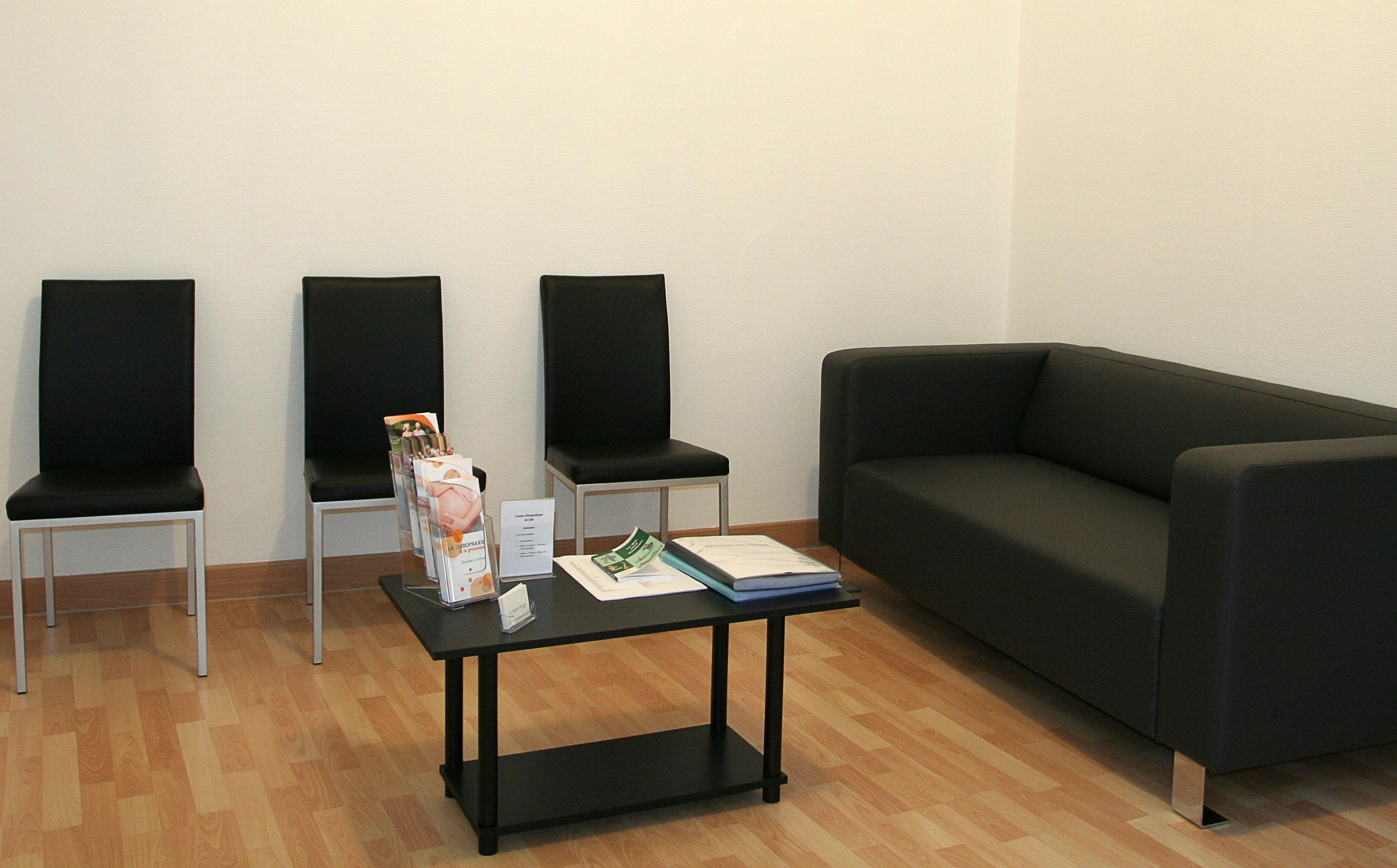 salle d'attente 1, cabinet chiro