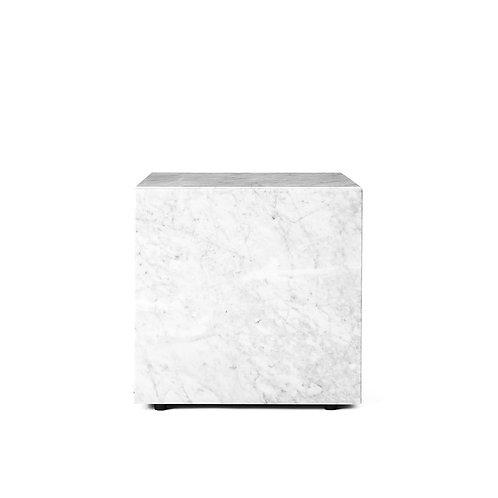 Mesa Auxiliar White Marble