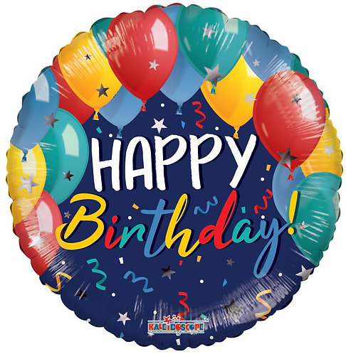 Birthday Festive Balloons (18 inch)
