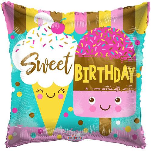 Sweet birthday (18 inch