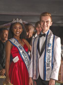 Miss Ferdies 2021: Sithembiso Majola and Mr Ferdies 2021: Dylan Bullock