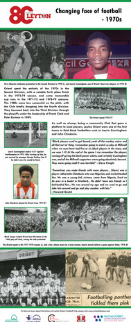 Changing face of football - 1970s