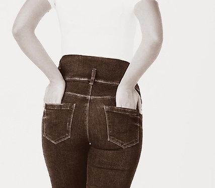 "High waisted jeans- ""Gracie"" - Black"