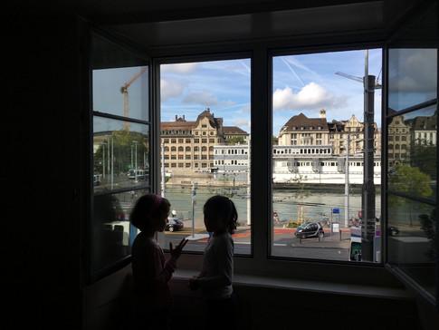 Aussicht aus dem Fenster