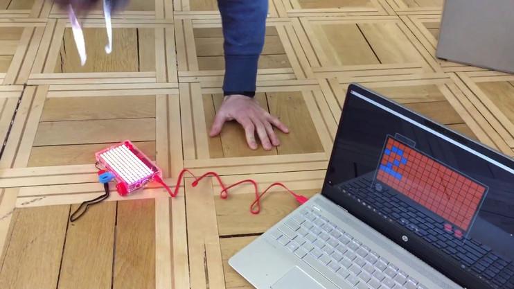 Liegenstützen Zähler - Kinder programmieren