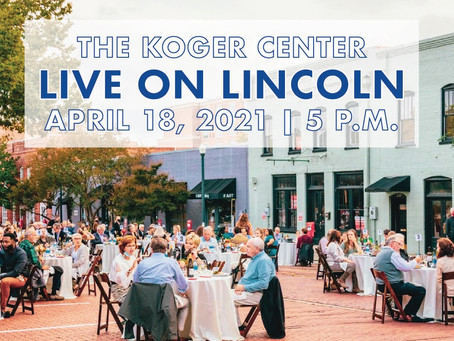 """Live on Lincoln"" featuring The Palmetto Opera on Sunday, April 18"