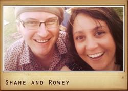 Shane Abbott and Rowey G