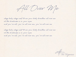 All_Over_Me_The_Tangerines_Lyrics