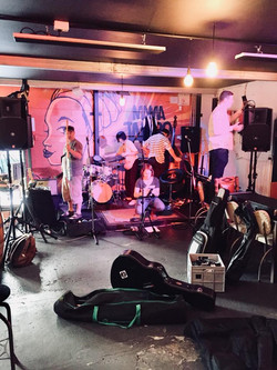 The Tangerines EP Launch Set up