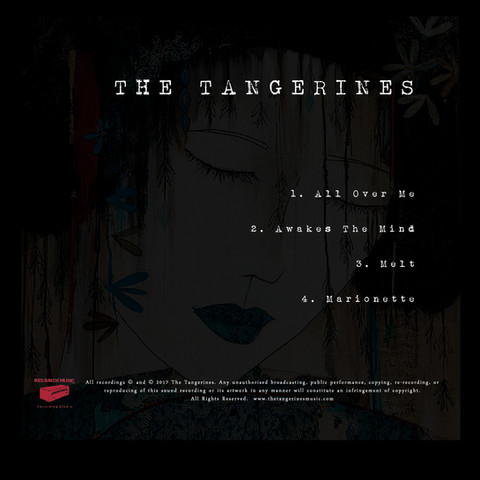 The Tangerines EP back cover