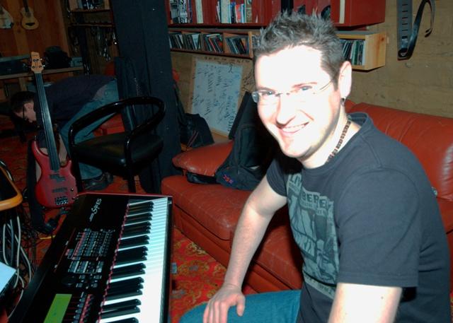 Shane Abbott at Mixmasters Studios