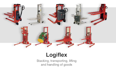 Stackers, Rotators pallet lifts.