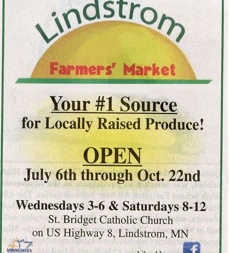 Lindstrom Farmers Market