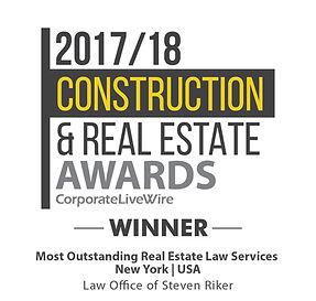 2017/18 Construction & Real Estate Awards