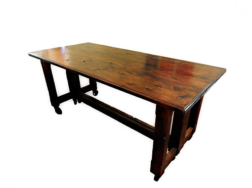 Two-Piece Separable Dining Table