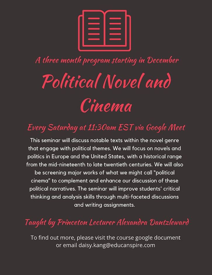 Political Novel and Cinema.jpg