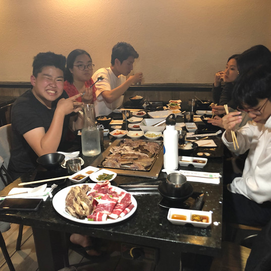 All you can eat Korean BBQ!