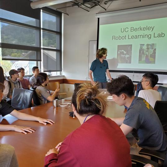 AI Robotics Lab at Sutardja Dai Hall (College of Engineering)