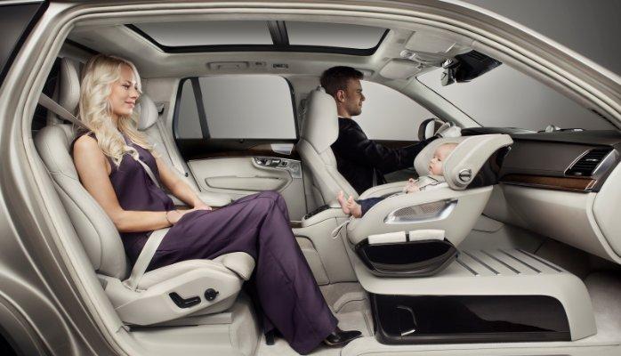 Volvo S Child Car Seat Design Puts Ergonomics First Gmx Design