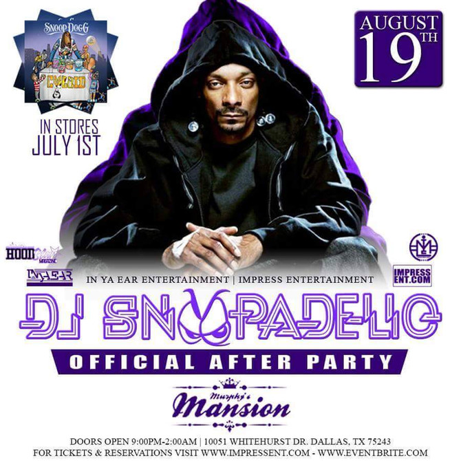 Snoop Dogg AfterParty at the Mansion