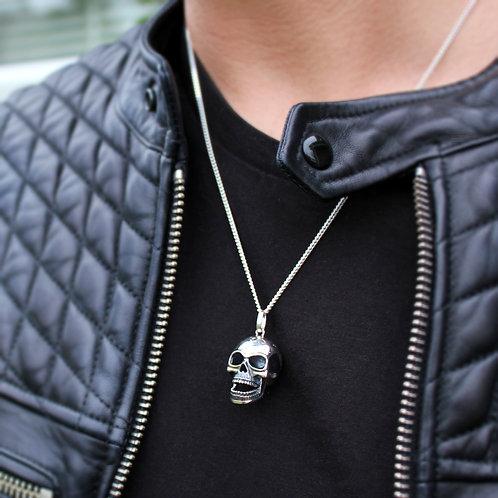 Sterling Silver Skull Necklace