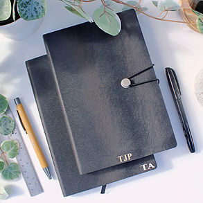 Black Leather Notebook Initals Wix 2.jpg