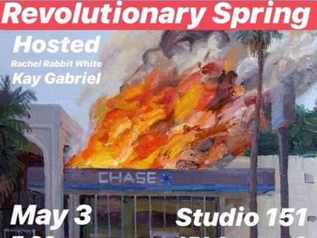 May 3: Revolutionary Spring Poetry Reading