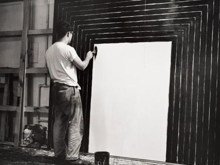 Frank Stella at the Metropolitan Museum of Art