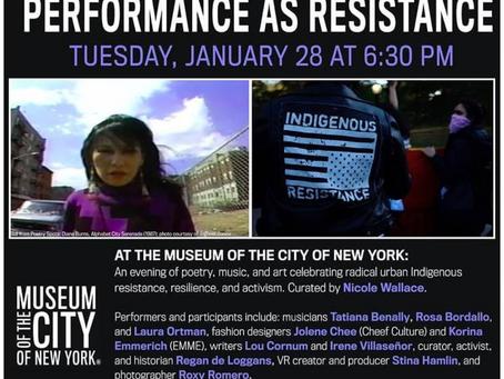 Big Fun: Indigenous Art + Performance as Resistance
