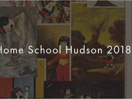 July 29 - August 3: I'll be at the Home School in Hudson, NY