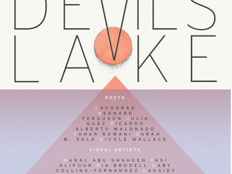 Aug 10: Join me in supporting the launch of Sarah Sala's new book DEVIL'S LAKE!