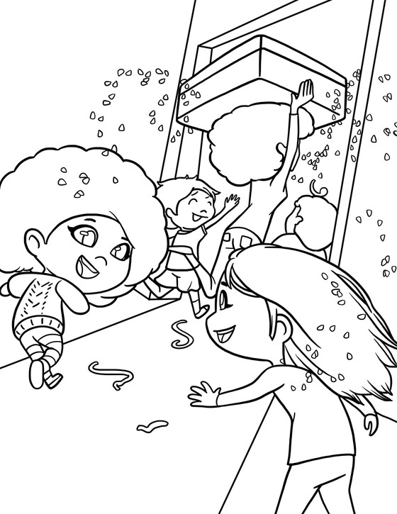 Bittyrina's Holiday Coloring Contest