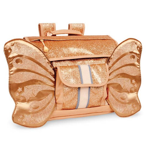 Gold Flutterfly Backpack