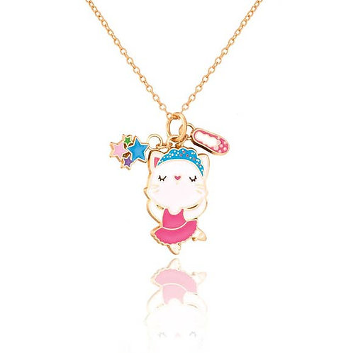 Dancing Kitty Necklace