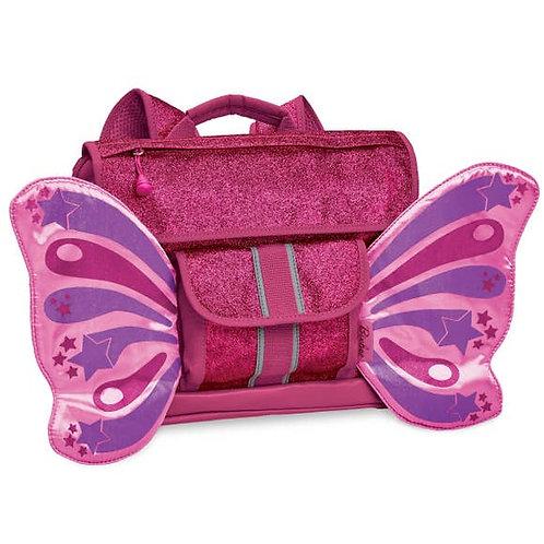 Fuchsia Flutterfly Backpack