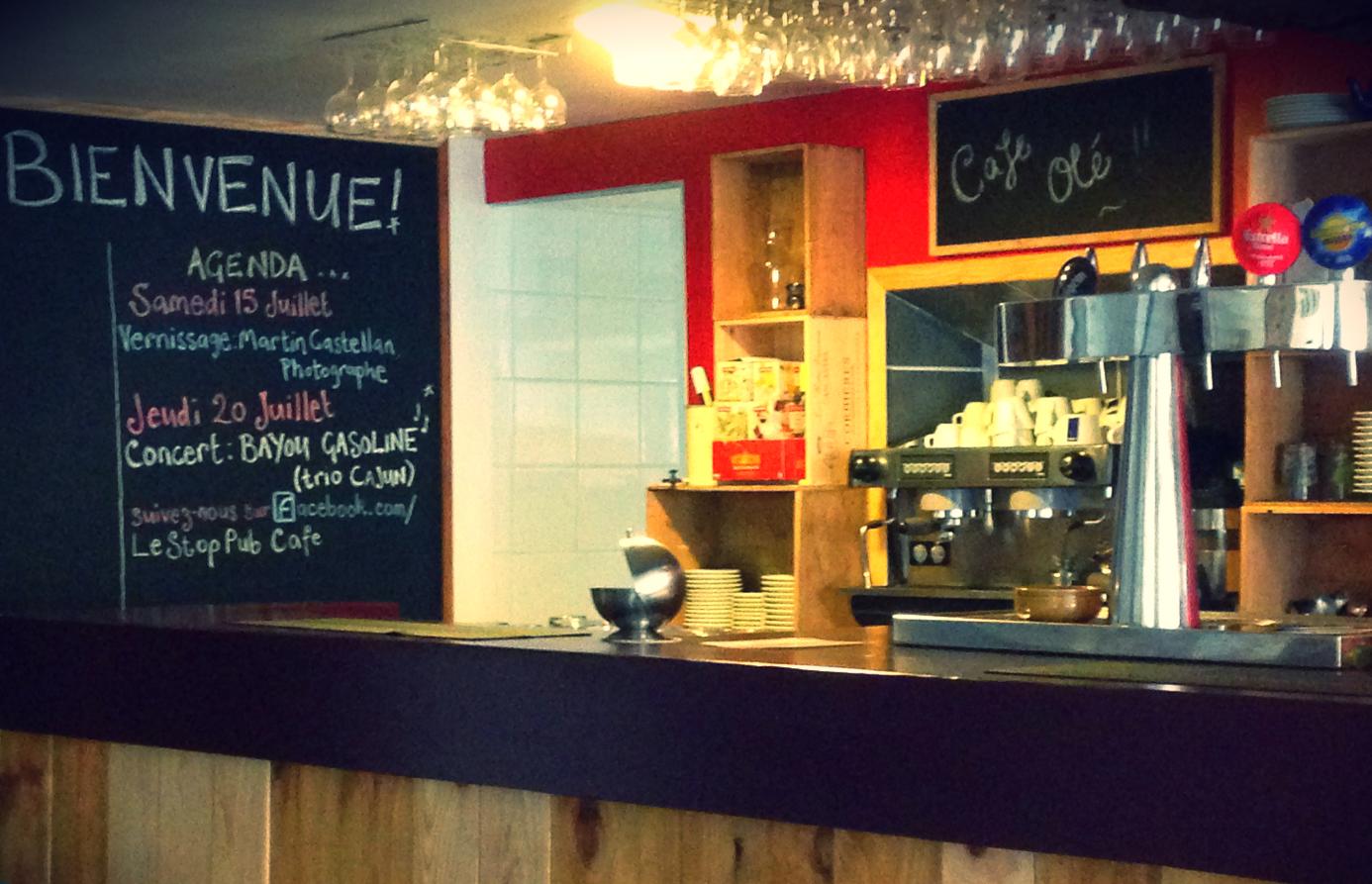 Le Stop Pub Café Sainte Colombe Sur