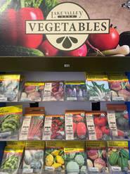 Veggie Seeds (seasonal)