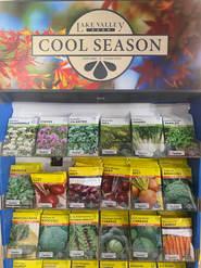Cool Season Seeds (seasonal)
