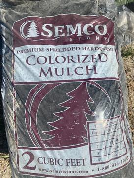 Colorized Mulch